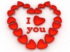 Free I Love You Royalty Free Stock Image - 9609056