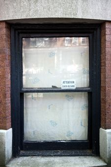 Free Brownstone Window Royalty Free Stock Images - 9609089