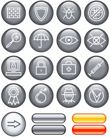 Free Web Icons Set - Safety (Vector) Stock Images - 9609244