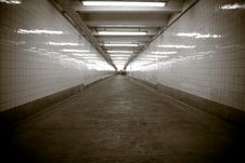 Free Subway Walkway Stock Images - 9609304