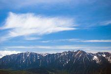 Bucegi Mountains Royalty Free Stock Images