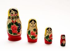 Free Matryoshkas Royalty Free Stock Photo - 9609655