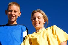 Free Brother And Sister Royalty Free Stock Image - 9609656