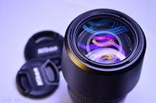 Free Camera Lens, Lens, Purple, Product Stock Photo - 96035020