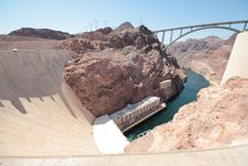 Free Hoover Dam Stock Photography - 96054802