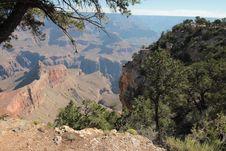 Free Mountainous Desert Landscape Stock Image - 96055101