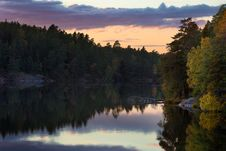 Free Calm River Surrounded By Trees During Daytume Stock Image - 96055171