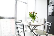 Free Breakfast Table In Sunny Room Royalty Free Stock Image - 96055186
