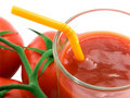 Free Tomato Juice And Tomato Close-up Royalty Free Stock Images - 9619509