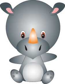Free Rhinoceros Stock Image - 9610251