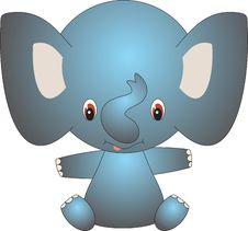 Free Elephant Royalty Free Stock Photography - 9610267