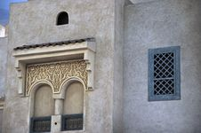 Free Old Arab Style Windows Royalty Free Stock Photography - 9610857