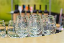 Free Exhibition Of Wine, Alcohol. Stock Image - 9610861