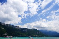 Free Annecy Lake In Savoy, France Royalty Free Stock Photos - 9611138