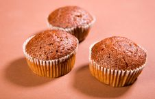 Free Chocolate Muffins Royalty Free Stock Photos - 9611288