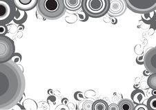 Free Decorative Design With Circle Stock Image - 9612201