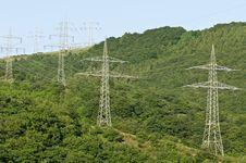 Free Power Lines Stock Photos - 9612243