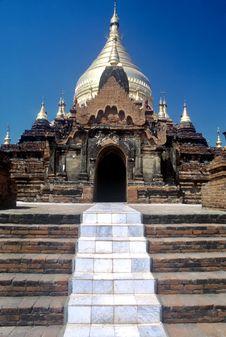 Free Temple,Bagan,Myanmar Stock Image - 9613171