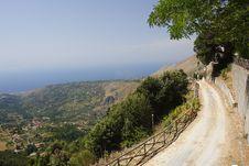 Free Mountain Path Royalty Free Stock Photo - 9613425