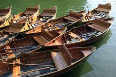 Free Rowboat Royalty Free Stock Image - 9613586