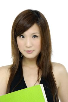 Free Asian Woman Stock Photo - 9614480