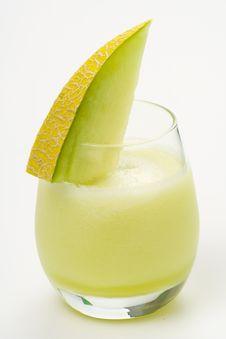 Free A Delicious Melon  Milkshake Royalty Free Stock Photos - 9614778