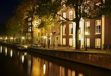 Free Amsterdam Street Scene Stock Photo - 9615430