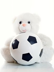 Free Toy With A Ball Royalty Free Stock Photos - 9616018
