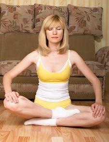 Free Yoga Stock Photo - 9616040