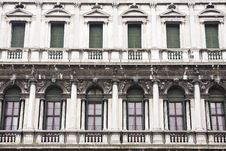 Free Architecture In San Marco Plaza In Venice Royalty Free Stock Photo - 9616045