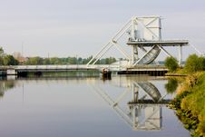 Free Pegasus Bridge, Normandy, France Stock Photo - 9617600