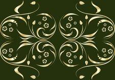 Free Gold Ornate Seamless Texture Royalty Free Stock Photo - 9618045