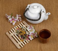 Free Flower Tea Stock Photography - 9618372