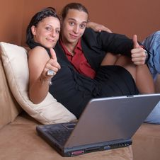 Free Couch Surfing Royalty Free Stock Photos - 9619288