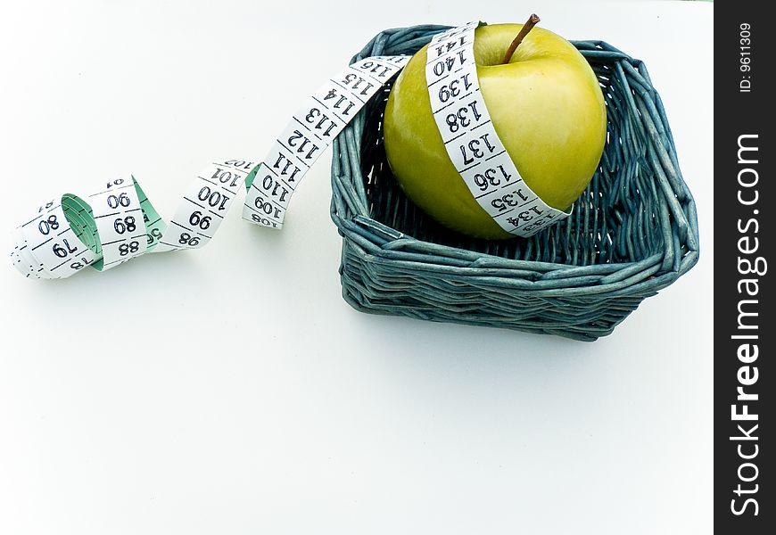 Granny Smith Apple Health Concept 3