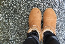 Free Feet In Boots Royalty Free Stock Photography - 96113817