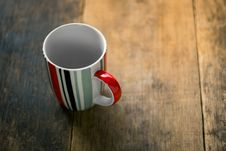 Free Empty Mug On Wooden Table Royalty Free Stock Photos - 96113948