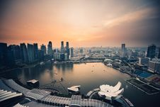Free Singapore Waterfront Royalty Free Stock Photography - 96113997