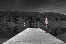 Free Pier On Lake Royalty Free Stock Images - 96114179