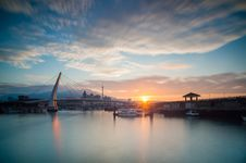 Free Lover Bridge Of Tamsui Stock Images - 96114294