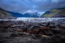 Free Glacier In Valley Royalty Free Stock Photos - 96114318