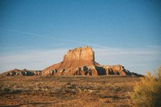 Free Desert Butte Stock Image - 96114361