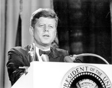 Free President John F Kennedy Stock Photography - 96118162