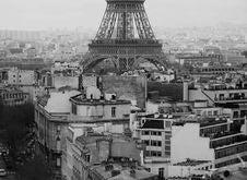 Free Paris Roof Tops Stock Photos - 96118223