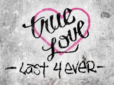 Free True Love Stock Image - 96118261