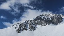 Free Scenic View Of Snowcapped Mountains Against Sky Royalty Free Stock Images - 96161169