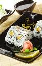 Free Japanese Cuisine - Sushi Stock Image - 9626051