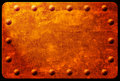 Free Rusty Plaque With Rivets Royalty Free Stock Image - 9628166