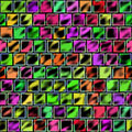Free Colorful Wall Royalty Free Stock Image - 9628476