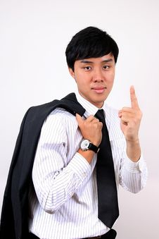 Free Young Asian Business Man. Stock Photography - 9620362